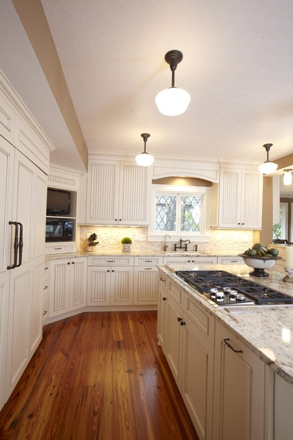 Stonebreaker Builders  Frank Lloyd Wright Remodel traditional-kitchen