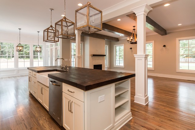 Stonegate The Olivia Farmhouse Kitchen raleigh by Black and White b