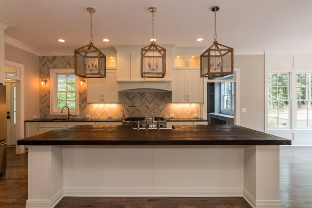 Stonegate the olivia farmhouse kitchen raleigh for Stonegate farmhouse plans