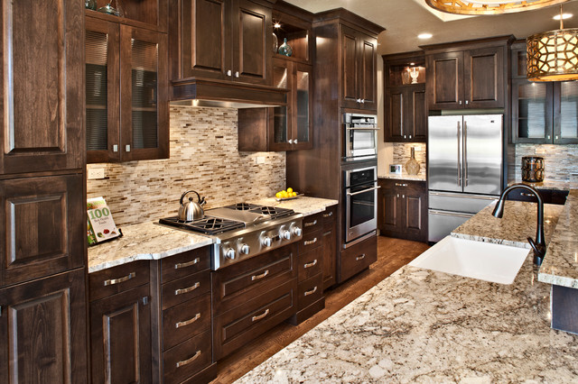 Stonehaven, Spring 2012 Parade of Homes award winner in SpurWing Greens contemporary-kitchen