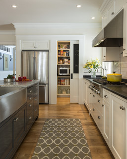 Stonewall Farmhouse - Traditional - Kitchen - Portland Maine - by Whitten Architects