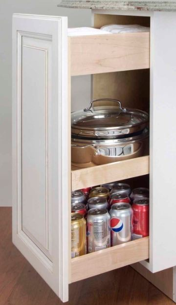 Storage & Organization Ideas for Cabinetry • Kitchens • Bathrooms • Home Offices traditional-kitchen