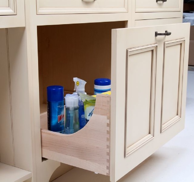 storage organization ideas for cabinetry kitchens bathrooms home offices traditional kitchen - Kitchen Sink Drawer
