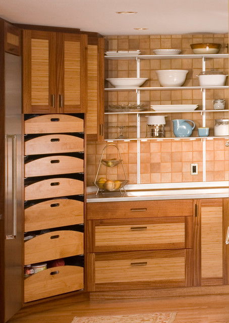 Nobody Stores It Better eclectic-kitchen
