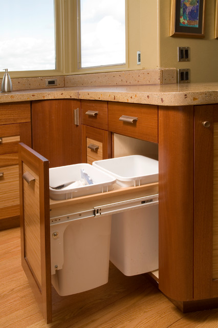 Storage Beyond the Norm! - Eclectic - Kitchen - Seattle - by Richard Landon Design