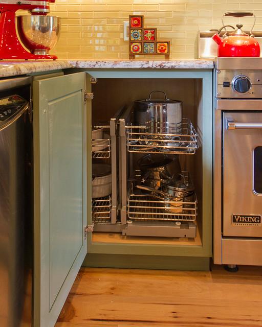 Storage Ideas - Traditional - Kitchen - Phoenix - by ...