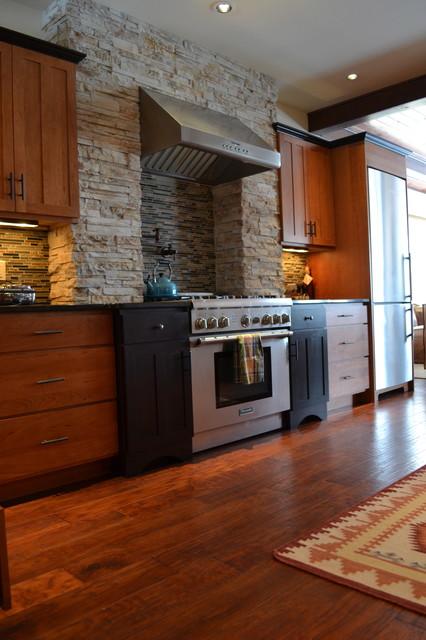 Stowe Vermont Condo Eclectic Kitchen Burlington By Berno Designs Llc