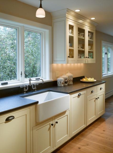 Stowe, Vermont Farmhouse Kitchen Renovation