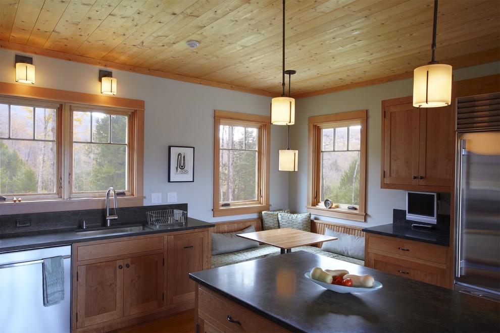 Stowe Vermont Home - Contemporary - Kitchen - Burlington ...