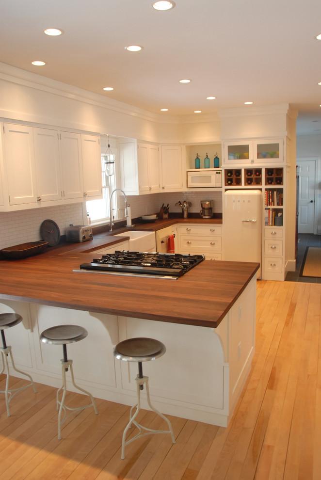 Stowe, Vermont Kitchen Remodel - Farmhouse - Kitchen ...