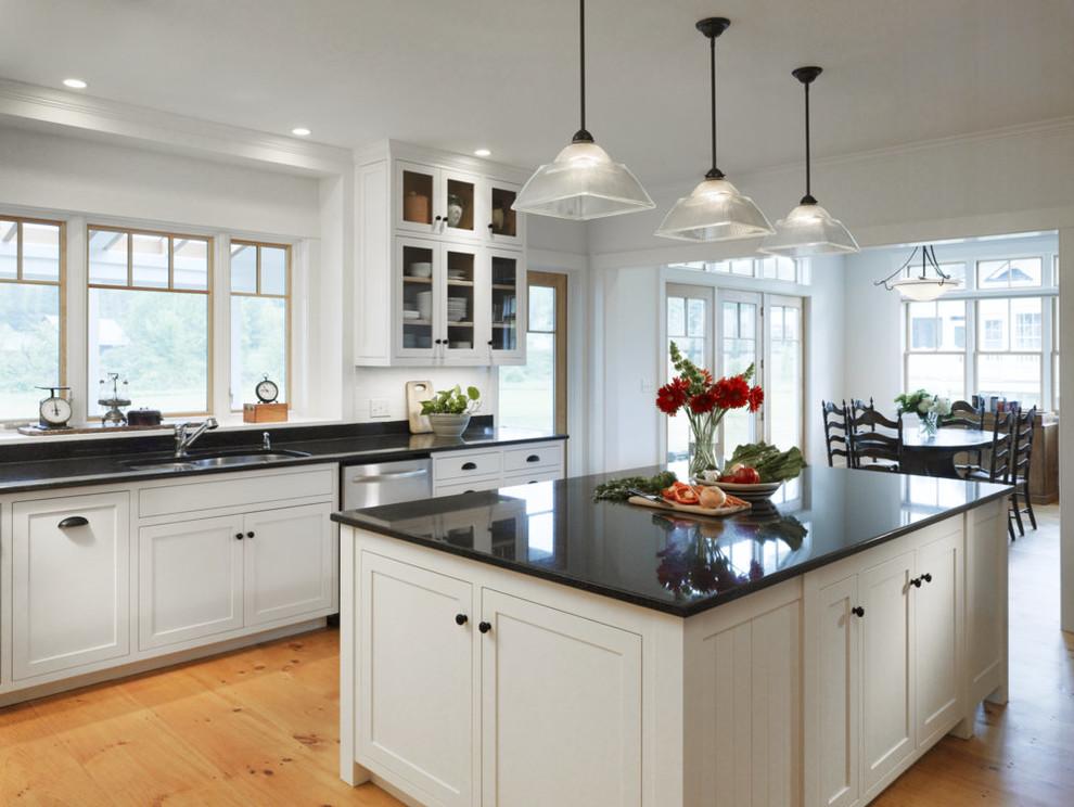 Stowe, Vermont Kitchen Renovation - Farmhouse - Kitchen ...