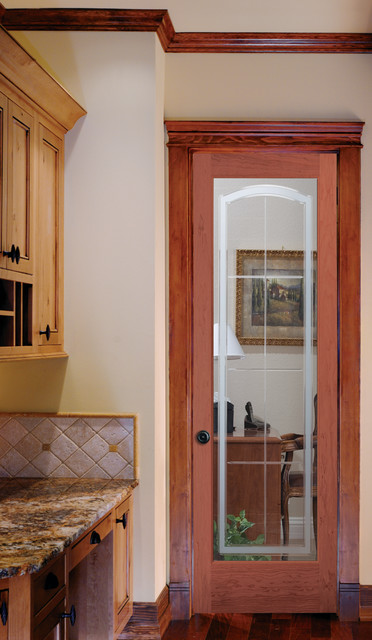 Stratford Glass Decorative Interior Glass Door Traditional Kitchen Sacramento By
