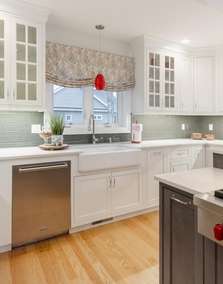 Stratham NH Kitchen 1 - Transitional - Kitchen - Boston ...