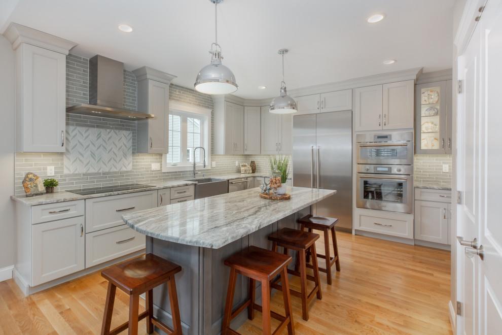Stratham NH Kitchen 2 - Transitional - Kitchen - Boston ...