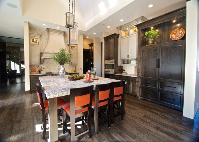 Street of dreams traditional kitchen portland by for Cuvee kitchen designs