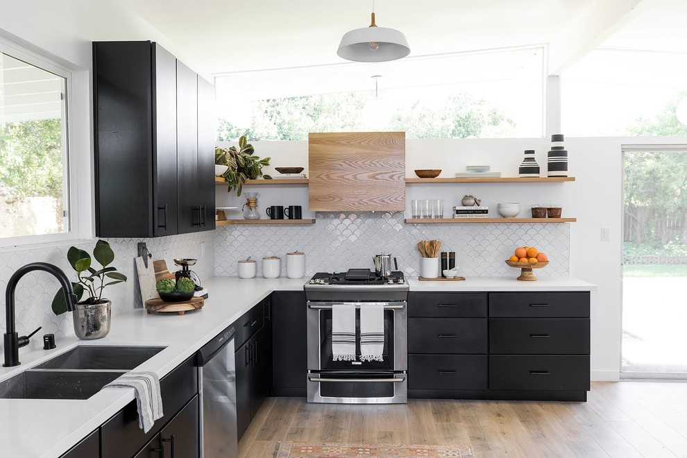 Streng Home - Midcentury - Kitchen - Sacramento - by ...
