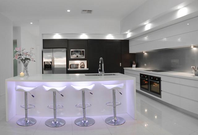 stretton ultra modern modern kitchen brisbane by
