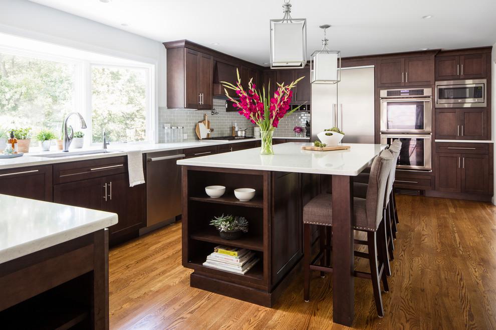 Stuart Kitchen Remodel Medfield Massachusetts Transitional Kitchen Boston By Masters Touch Design Build Houzz