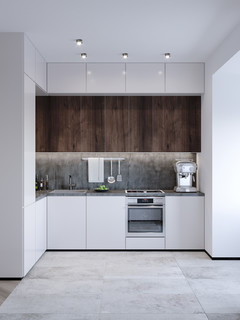 Studio Apartment Modern Kitchen Frankfurt By