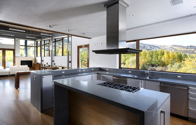 Studio B Architects Interiors Kitchen Modern Kitchen