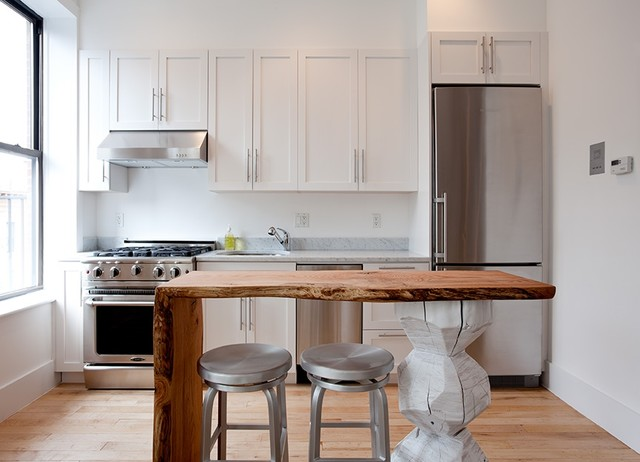 Studio Kitchen Eclectic Kitchen New York By The