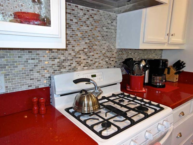 Stunning in Red  Kitchen Remodel  Traditional  Kitchen  other