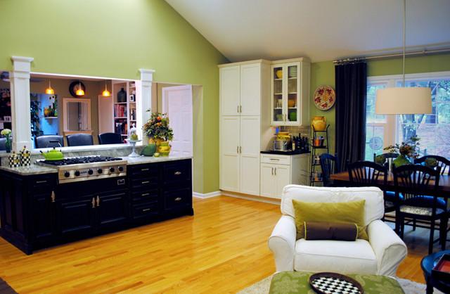 Stunning Kitchen Addition in Oakton traditional-kitchen