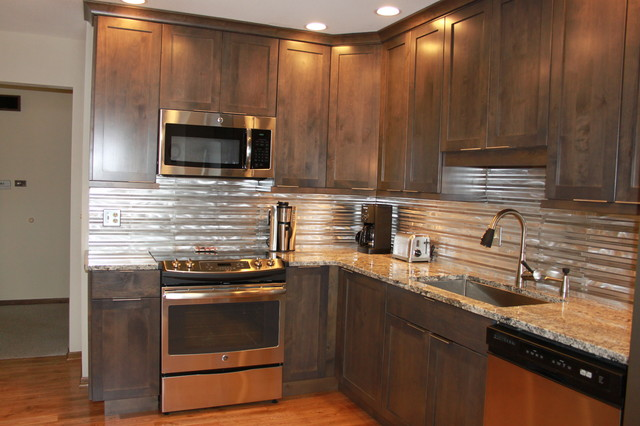 Stunning Stainless Kitchen Remodel Rockford Illinois