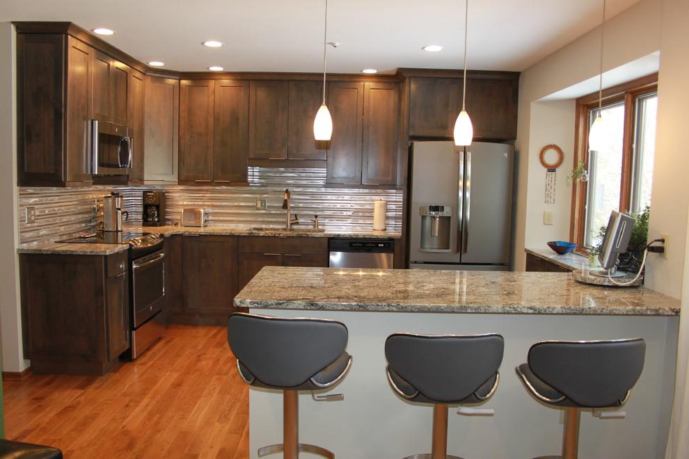 Stunning Stainless Kitchen Remodel | Rockford, Illinois ...