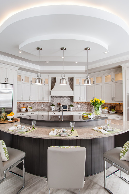 A guide to 6 kitchen island styles for Kitchen layout guide