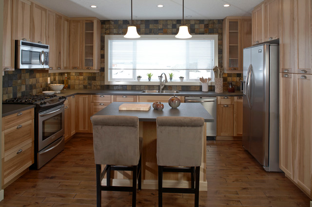 Style Mix traditional-kitchen