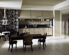 Style: New Classic rustic-kitchen