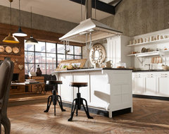 Style: Vintage industrial-kitchen