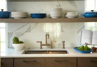 Stylish Modern Kitchen コンテンポラリー-キッチン