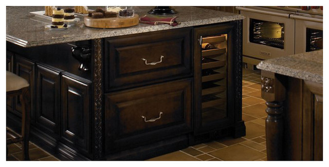 """Sub-Zero 15"""" Built-in Wine Storage, Stainless Steel 