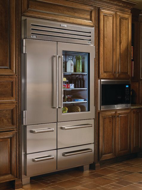 Sub Zero 48 Professional Side By Side Refrigerator With Glass Door