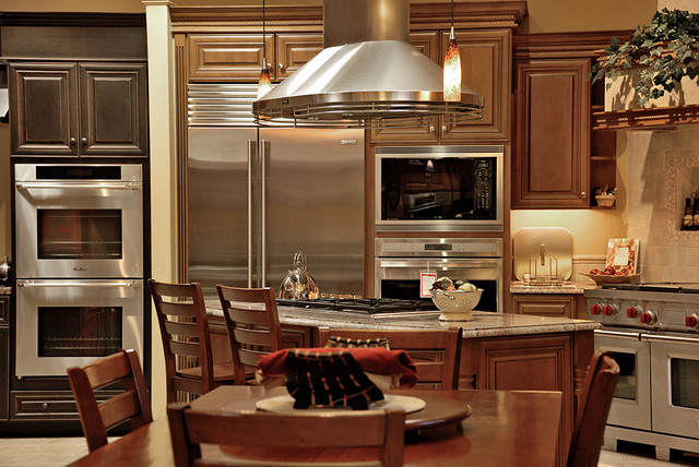 Sub Zero Wolf Appliances Kitchen Other Metro By Connecticut Appliance Fireplace
