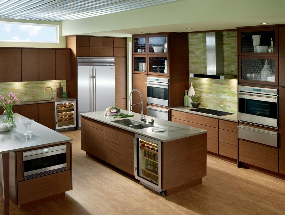 Sub Zero Wolf Kitchens Contemporary Kitchen Los Angeles By Universal Appliance And Kitchen Center Houzz