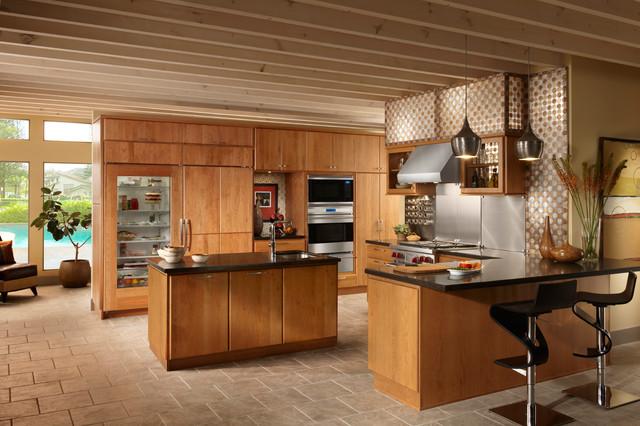 Sub-Zero & Wolf Kitchens - Contemporáneo - Cocina - Los Ángeles - de ...