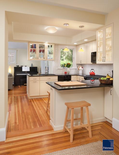Subtle changes contemporary-kitchen
