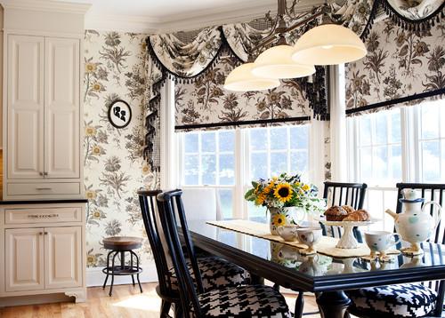 Kitchen Decor with Trendy Patterns