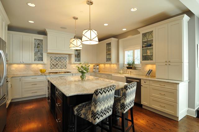 Suburban Glam transitional-kitchen