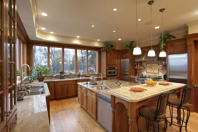 suburban kitchen traditional kitchen other metro by lanny nagler photography