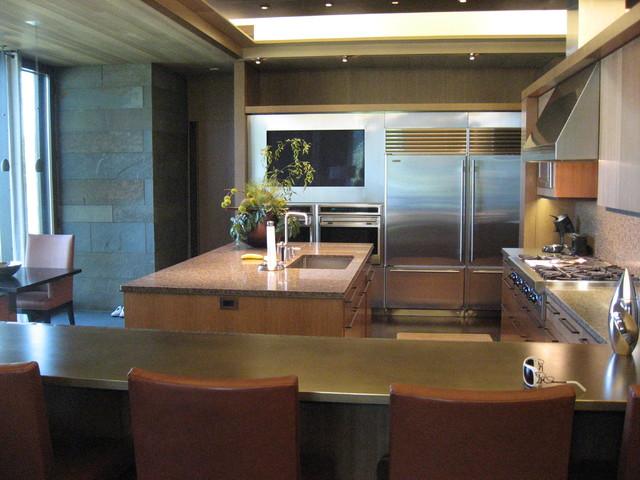 Suburban Modern modern-kitchen