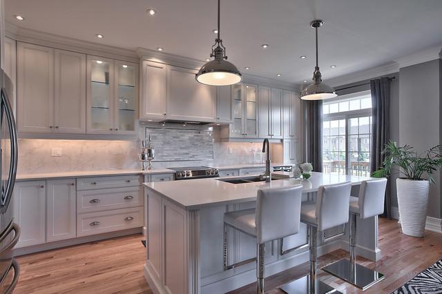 Superbe Suburban New Home Remodel Contemporary Kitchen