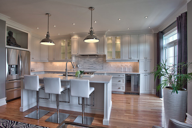 Suburban New Home Remodel contemporary kitchen 2354