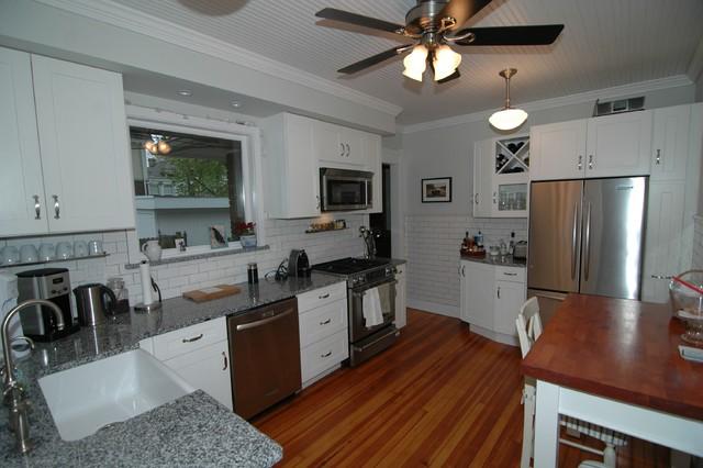 Subway Tile Kitchen traditional-kitchen
