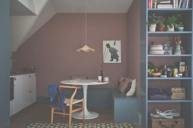 Sulking Room Pink And De Nimes Kitchen Modern Kitchen