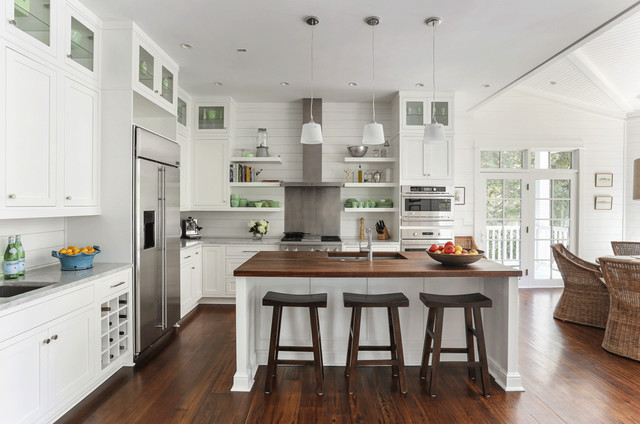 Sullivan's Island Family Home Renovation beach-style-kitchen
