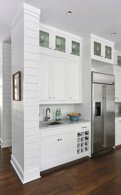 Sullivan's Island Family Home Renovation beach-style-kitchen